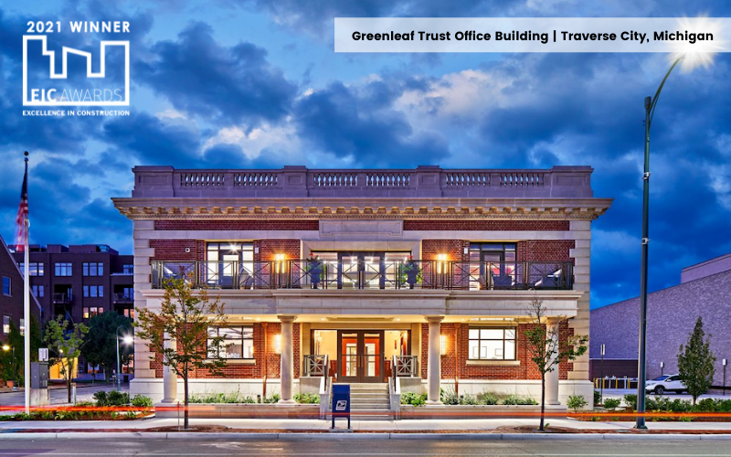 Greenleaf Trust Office Building  Traverse City, Michigan